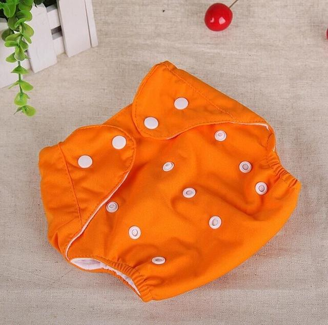 d3472276b4ff Baby Diapers Washable Reusable Nappies Grid Cotton Training Pant ...