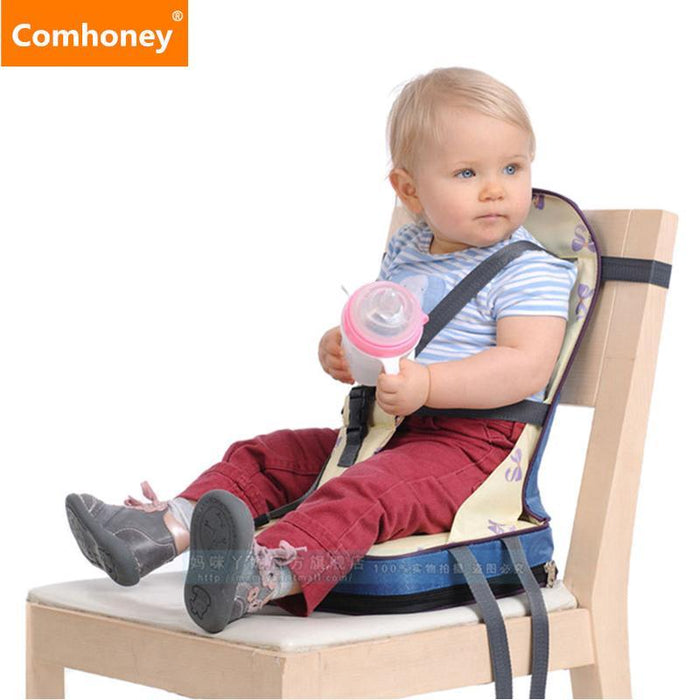 Baby Feeding Chair Booster Seat Highchair For Toddlers Dining Baby Chair  Booster Fold-Up Seat