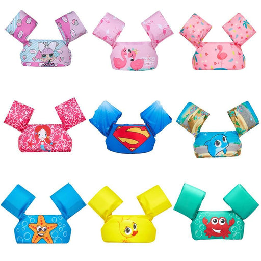 Baby Float Cartoon Arm Sleeve Life Jacket Jacket Swimsuit Foam Safety Swimming Training Floating-Swimming Rings-FB mpv Camping Store-superman-EpicWorldStore.com