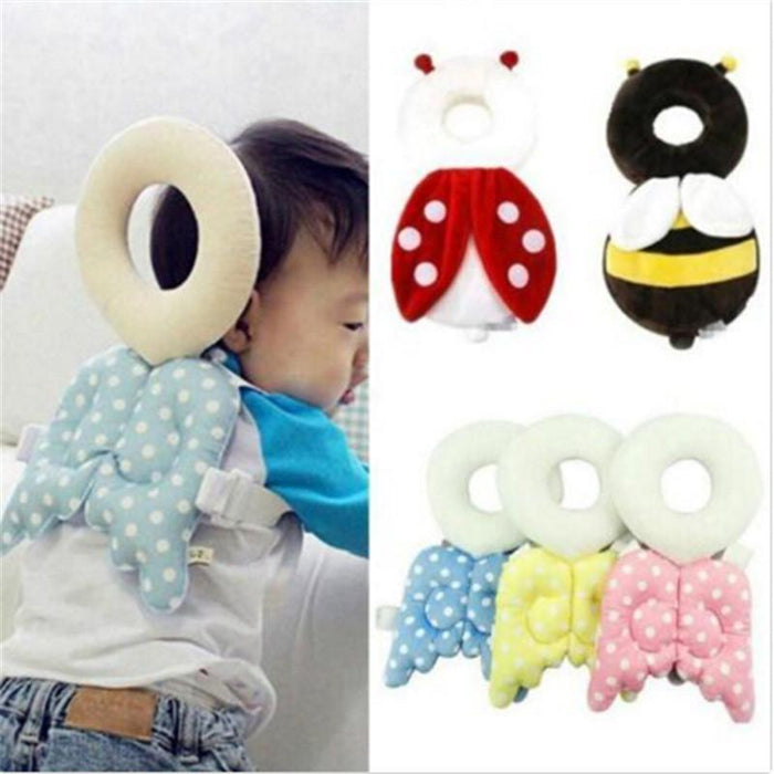 Baby Head protection pad Toddler headrest pillow baby neck Cute wings  cushion