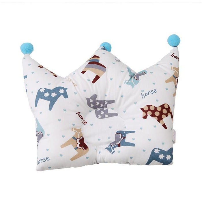 Baby Shaping Pillow Prevent Flat Head Infants Crown Dot Bedding Pillows Newborn Boy Girl Room-Baby Bedding-Join In Toy Store-type 1-EpicWorldStore.com
