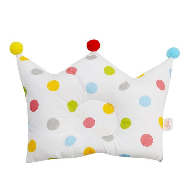 Baby Shaping Pillow Prevent Flat Head Infants Crown Dot Bedding Pillows Newborn Boy Girl Room-Baby Bedding-Join In Toy Store-type 3-EpicWorldStore.com