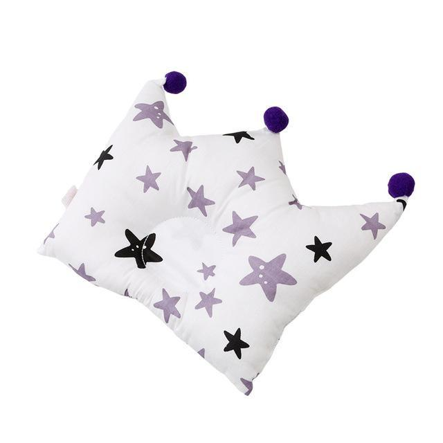 Baby Shaping Pillow Prevent Flat Head Infants Crown Dot Bedding Pillows Newborn Boy Girl Room-Baby Bedding-Join In Toy Store-type 5-EpicWorldStore.com