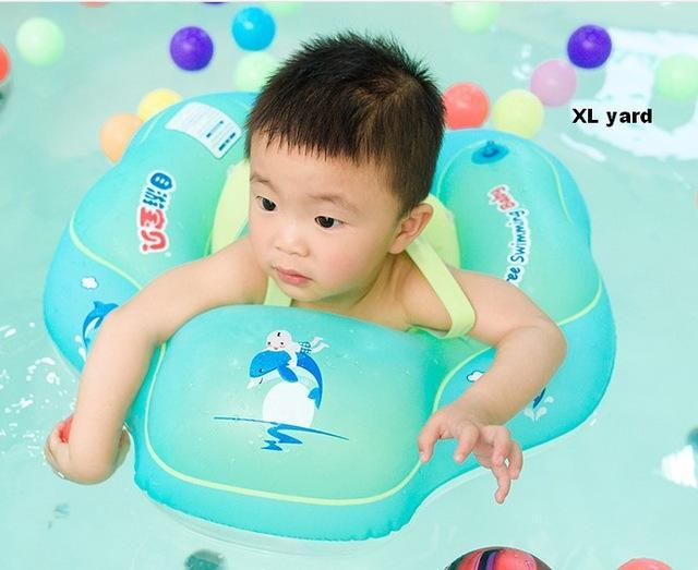 Baby Swimming Ring Inflatable Infant Armpit Floating Kids Bathing Accessories