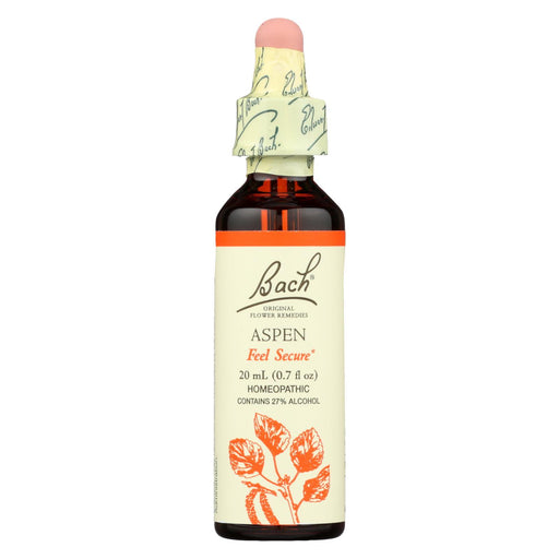 Bach Flower Remedies Essence Aspen - 0.7 Fl Oz-Eco-Friendly Home & Grocery-Bach-EpicWorldStore.com