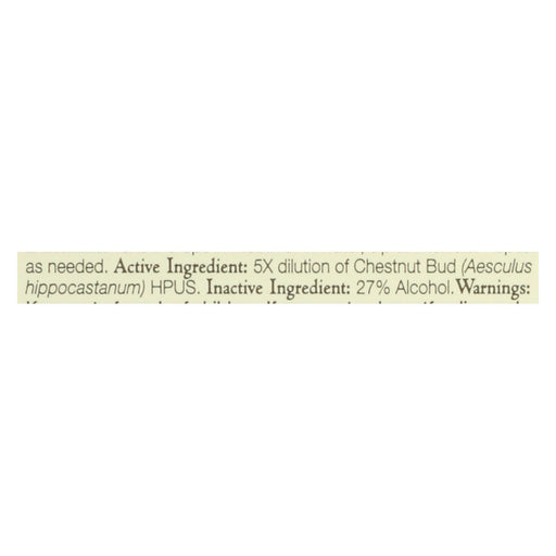 Bach Flower Remedies Essences Chestnut Bud - 0.7 Fl Oz-Eco-Friendly Home & Grocery-Bach-EpicWorldStore.com