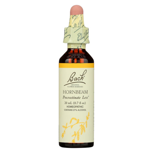 Bach Flower Remedies Essences Hornbeam - 0.7 Fl Oz-Eco-Friendly Home & Grocery-Bach-EpicWorldStore.com