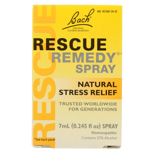 Bach Flower Remedies Rescue Remedy Spray - 0.245 Fl Oz-Eco-Friendly Home & Grocery-Bach-EpicWorldStore.com