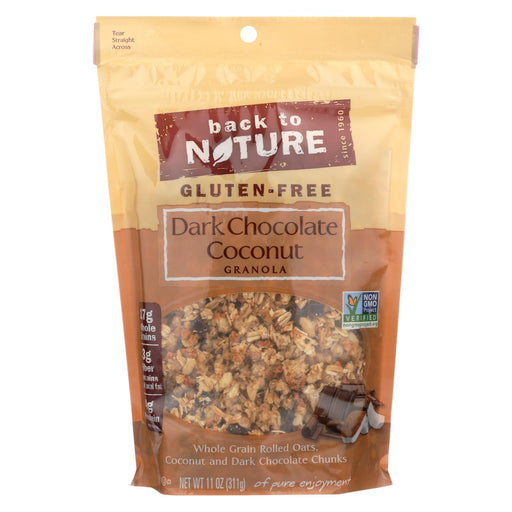 Back To Nature Granola - Dark Chocolate Coconut - Case Of 6 - 11 Oz.-Eco-Friendly Home & Grocery-Back To Nature-EpicWorldStore.com