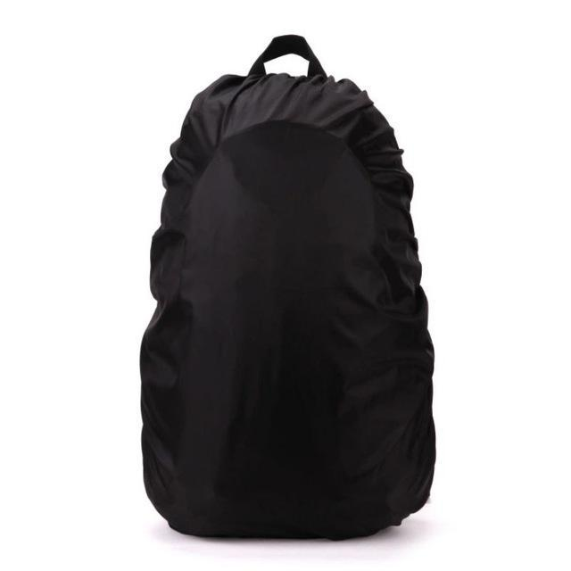 Backpack Raincoat Suit For 35L Waterproof Fabrics Rain Covers Travel Camping Hiking Outdoor-Sport Bags-Yue Che Store-Black-EpicWorldStore.com