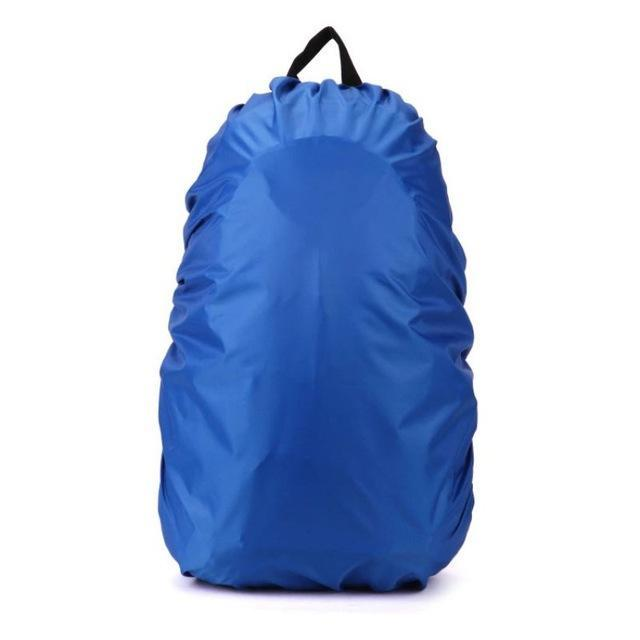 Backpack Raincoat Suit For 35L Waterproof Fabrics Rain Covers Travel Camping Hiking Outdoor-Sport Bags-Yue Che Store-Blue-EpicWorldStore.com