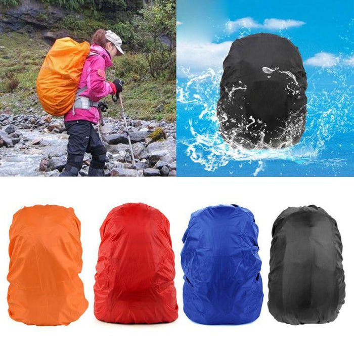 Backpack Raincoat Suit For 35L Waterproof Fabrics Rain Covers Travel Camping Hiking Outdoor-Sport Bags-Yue Che Store-Camouflage-EpicWorldStore.com