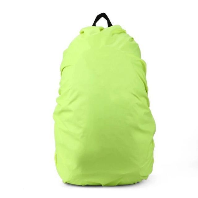 Backpack Raincoat Suit For 35L Waterproof Fabrics Rain Covers Travel Camping Hiking Outdoor-Sport Bags-Yue Che Store-Green-EpicWorldStore.com