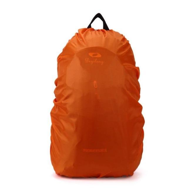 Backpack Raincoat Suit For 35L Waterproof Fabrics Rain Covers Travel Camping Hiking Outdoor-Sport Bags-Yue Che Store-Orange-EpicWorldStore.com