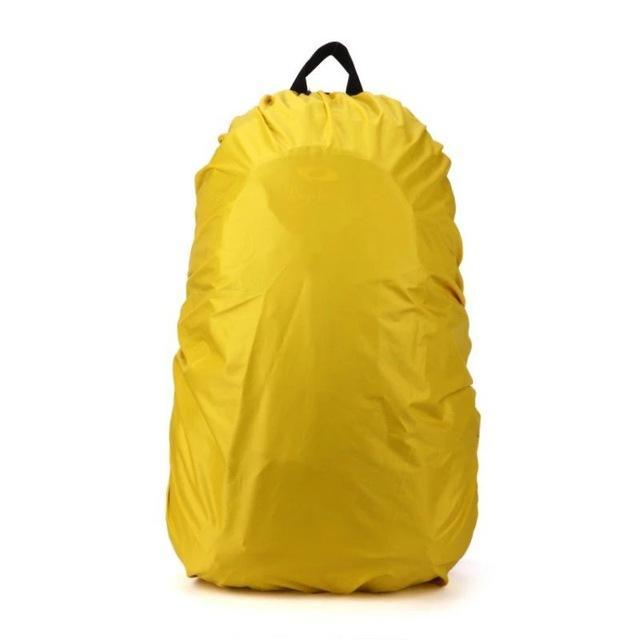 Backpack Raincoat Suit For 35L Waterproof Fabrics Rain Covers Travel Camping Hiking Outdoor-Sport Bags-Yue Che Store-Yellow-EpicWorldStore.com