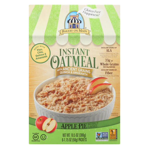 Bakery On Main Oatmeal Apple Pie - Case Of 6 - 10.5 Oz.-Eco-Friendly Home & Grocery-Bakery On Main-EpicWorldStore.com