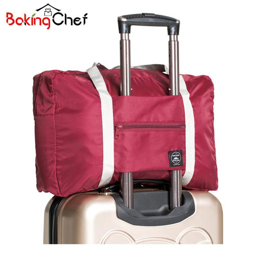 Bakingchef Casual Travel Bags Clothes Luggage Storage Organizer Collation Pouch Cases Accessories-Home Storage & Organization-BAKINGCHEF Store-wine red-EpicWorldStore.com