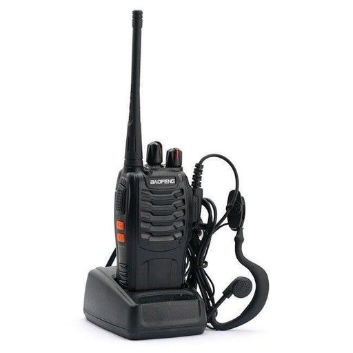 Baofeng Bf-888S 16Ch 5W Walkie Talkie Interphone Uhf 400-470Mhz Two-Way Radio+Earpiece -Russia-Communication Equipments-Two way radio- top-EpicWorldStore.com