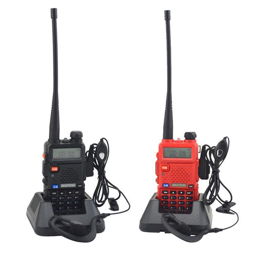 Baofeng Uv-5R Dual Band Vhf/Uhf 136-174Mhz & 400-520Mhz Fm Portable Two Way Radio Handheld Walkie-Communication Equipments-York International Radio Online Store-Camouflage-Euro-EpicWorldStore.com