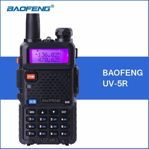 Baofeng Uv-5R Portable Walkie Talkie Vhf Uhf Two Way Ham Radio Transceiver Uv 5R Handheld Uv5R-Communication Equipments-QZ kexun Store-Camo-EpicWorldStore.com