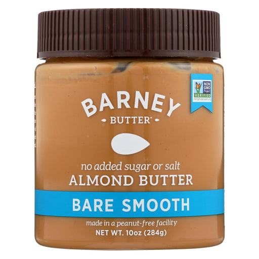 Barney Butter - Almond Butter - Bare Smooth - Case Of 6 - 10 Oz.-Eco-Friendly Home & Grocery-Barney Butter-EpicWorldStore.com