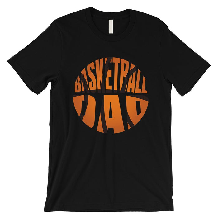 Basketball Dad Mens Super Supportive Sport Shirt Gift For Fathers-Apparel & Accessories-365 Printing-Black-Small-EpicWorldStore.com