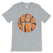 Basketball Dad Mens Super Supportive Sport Shirt Gift For Fathers-Apparel & Accessories-365 Printing-Heather Grey-Medium-EpicWorldStore.com
