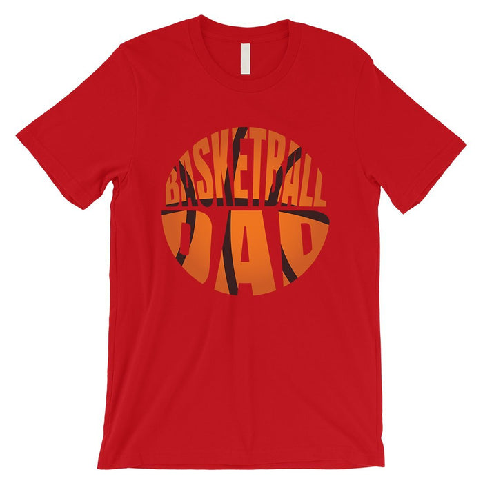 Basketball Dad Mens Super Supportive Sport Shirt Gift For Fathers-Apparel & Accessories-365 Printing-Red-XX-Large-EpicWorldStore.com