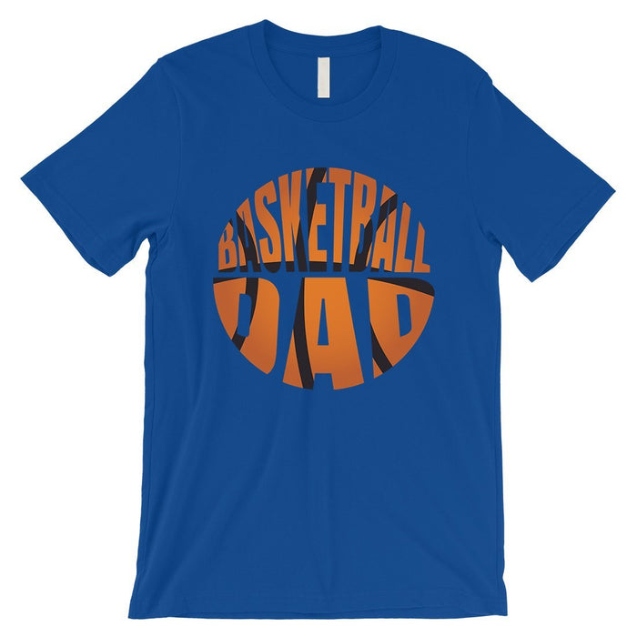 Basketball Dad Mens Super Supportive Sport Shirt Gift For Fathers-Apparel & Accessories-365 Printing-Royal Blue-Medium-EpicWorldStore.com