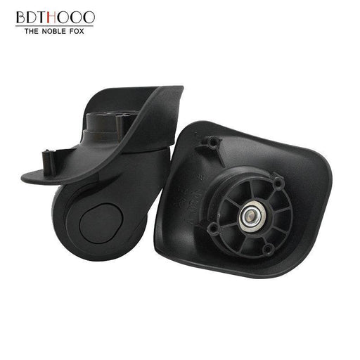 Bdthooo Replacement Luggage Wheels For Suitcases Repair Hand Spinner Caster Wheels Parts Trolley-Bag Parts & Accessories-BDTHOOO Official Store-1 Pair Black L-EpicWorldStore.com