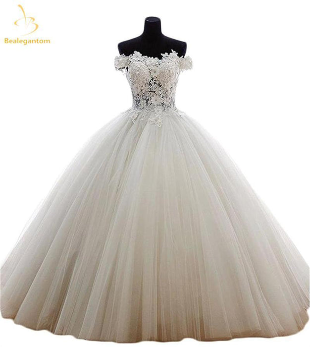 774e8b0b20a Bealegantom New Quinceanera Dresses Ball Gown Tulle Beaded Crystal Sweet 15  16 Dresses Vestidos-Quinceanera