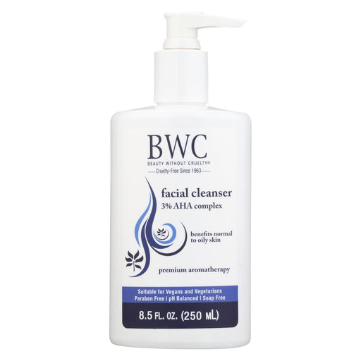 Beauty Without Cruelty Facial Cleanser Alpha Hydroxy Complex - 8.5 Fl Oz-Eco-Friendly Home & Grocery-Beauty Without Cruelty-EpicWorldStore.com