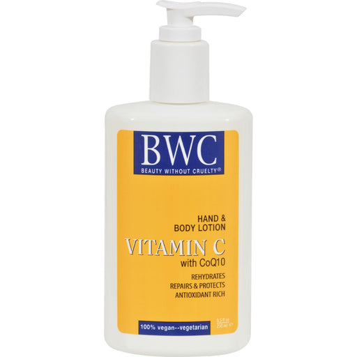 Beauty Without Cruelty Hand And Body Lotion Vitamin C Organic - 8.5 Fl Oz-Eco-Friendly Home & Grocery-Beauty Without Cruelty-EpicWorldStore.com