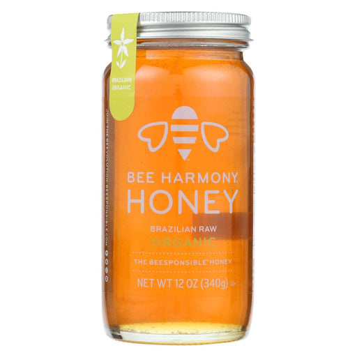 Bee Harmony - Honey - Brazilian Raw Honey - Case Of 6-12 Oz.-Eco-Friendly Home & Grocery-Bee Harmony-EpicWorldStore.com