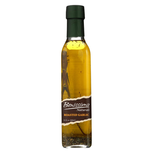 Benissimo Oil - Roasted Garlic - Case Of 6 - 8.1 Fl Oz.-Eco-Friendly Home & Grocery-Benissimo-EpicWorldStore.com