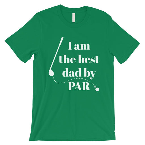 Best Dad By Par Golf Mens Shirt-Apparel & Accessories-365 Printing-Navy-X-Large-EpicWorldStore.com