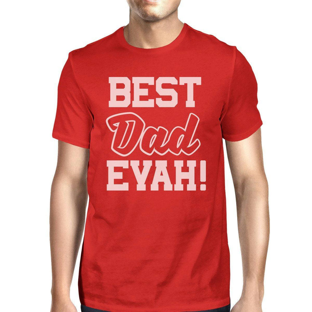 fd489f77 Best Dad Evah Mens Funny T Shirts For Dad Unique Fathers Day Gifts-Apparel &