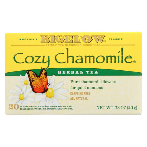 Bigelow Tea Herbal Tea - Cozy Chamomile - Case Of 6 - 20 Bag-Eco-Friendly Home & Grocery-Bigelow Tea-EpicWorldStore.com