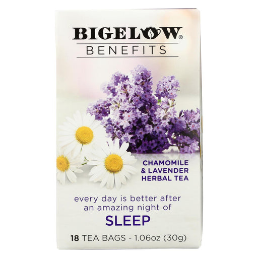 Bigelow Tea Tea - Chamomile Lavender - Sleep - Case Of 6 - 18 Bag-Eco-Friendly Home & Grocery-Bigelow Tea-EpicWorldStore.com