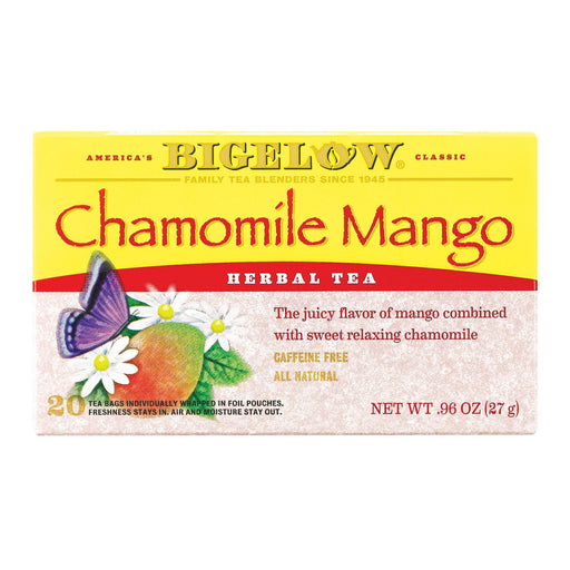 Bigelow Tea Tea - Chamomile With Mango - Case Of 6 - 20 Bag-Eco-Friendly Home & Grocery-Bigelow Tea-EpicWorldStore.com