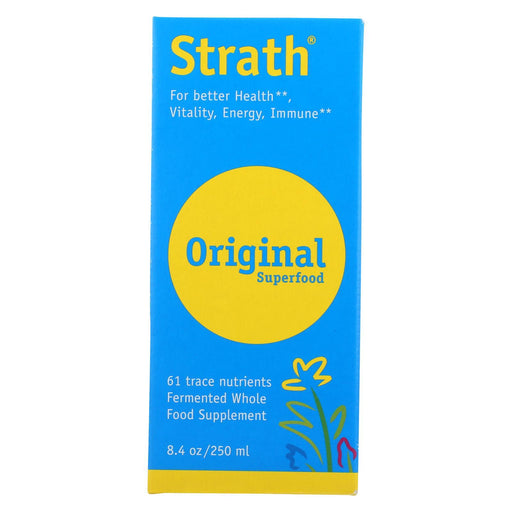Bio-Strath Whole Food Supplement - Stress And Fatigue Formula - Liquid - 8.4 Fl Oz-Eco-Friendly Home & Grocery-Bio-strath-EpicWorldStore.com