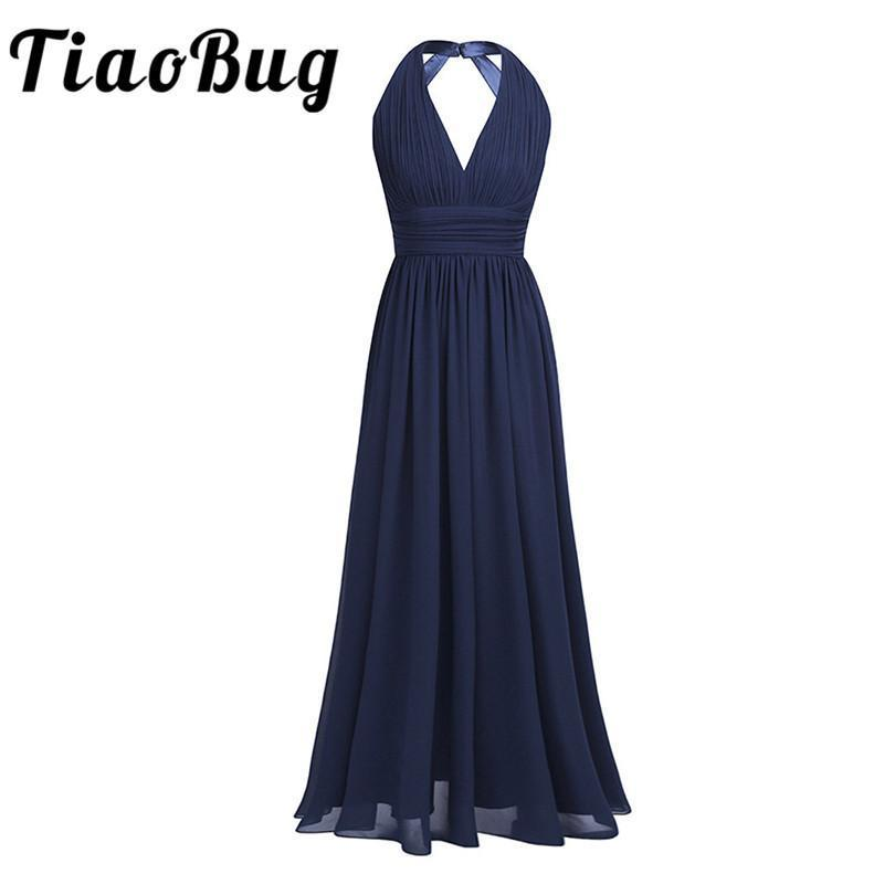 Black Navy Blue Teal Burgundy Plus Size Long Bridesmaid Dresses 5 Colors  Prom Women Ladies