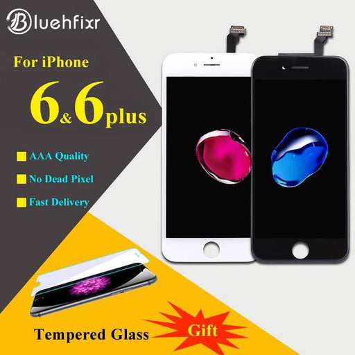 Bluehfixr Aaaaa For Iphone 6 6Plus Lcd Display Touch Screen Digitizer Assembly Phone Replacement-Mobile Phone Parts-Bluehtech Store-black for iphone 6-EpicWorldStore.com