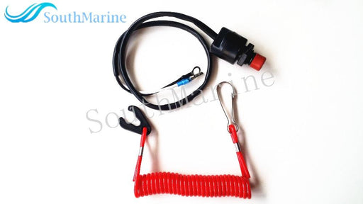 Boat Motor Kill Stop Switch & Safety Tether Lanyard For Yamaha / Tohatsu Outboard Motor Parts ,-ATV,RV,Boat & Other Vehicle-SouthMarine Outboard Motor Parts store-EpicWorldStore.com