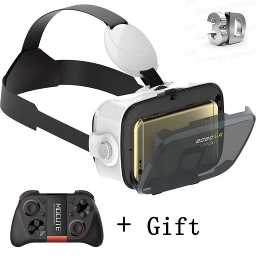 Bobovr Z4 Mini Google Carboard 3D Virtual Reality Headset Vr Glasses Vr Box With Bluetooth-VR/AR Devices-Jone Qiu's Shop-Brown-EpicWorldStore.com