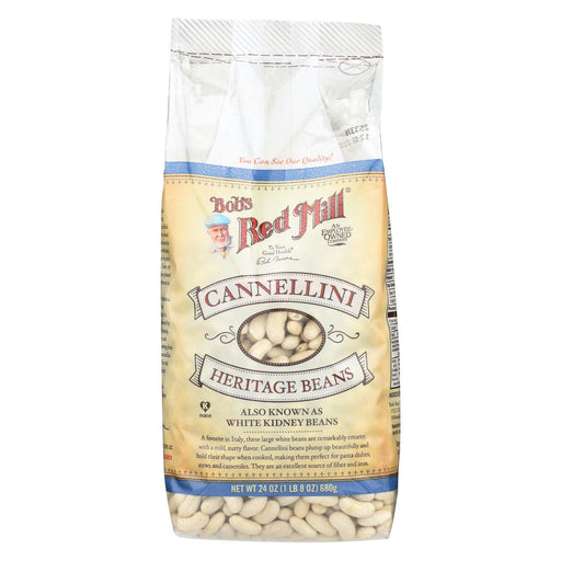Bob'S Red Mill - Cannellini Beans - 24 Oz - Case Of 4-Eco-Friendly Home & Grocery-Bob's Red Mill-EpicWorldStore.com