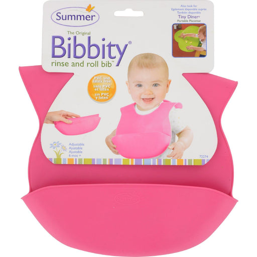 Bornfree - Bibbity Bib - Pink - 1 Ct-Eco-Friendly Home & Grocery-Bornfree-EpicWorldStore.com