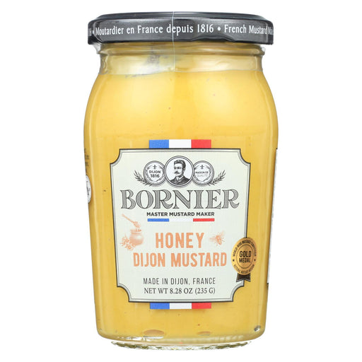 Bornier - Mustard - Honey - Case Of 6 - 8.3 Oz.-Eco-Friendly Home & Grocery-Bornier-EpicWorldStore.com