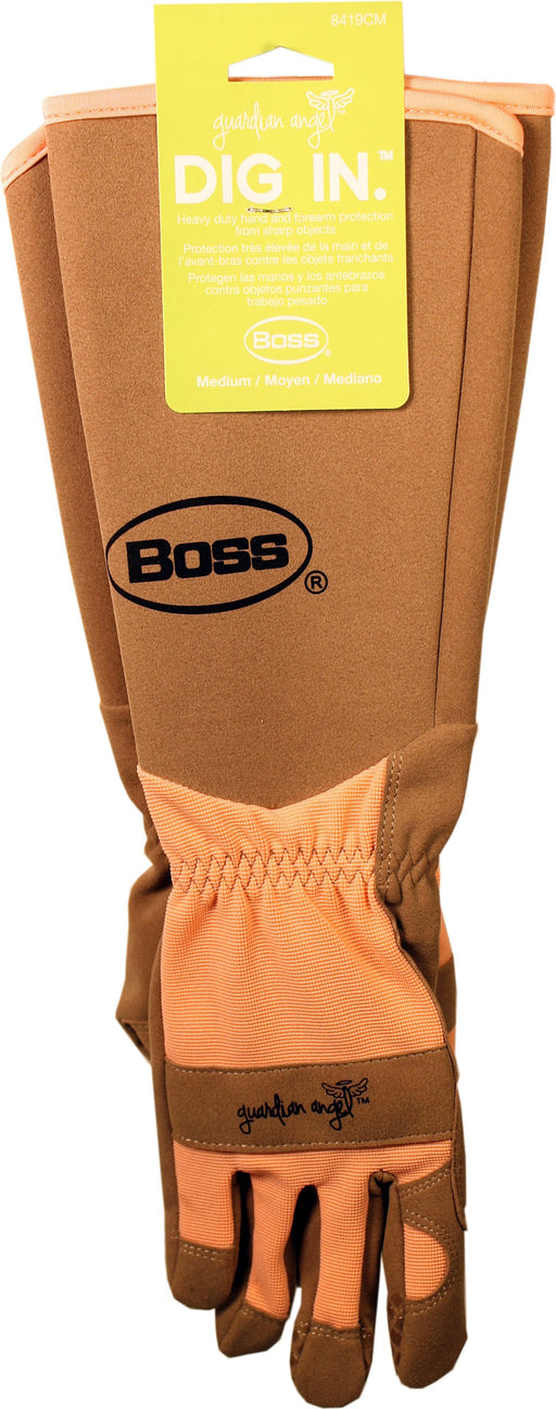 Boss Manufacturing P - Guardian Angel Extended Sleeve Synthetic Leather-Pet-Boss Manufacturing P-CORAL-MEDIUM-EpicWorldStore.com