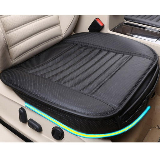 Brand New General Car Seat Cushions,Universal Non-Rollding Up Pads Single Non Slide Car Seat-Interior Accessories-sparklestar Store-black back 1pcs-EpicWorldStore.com